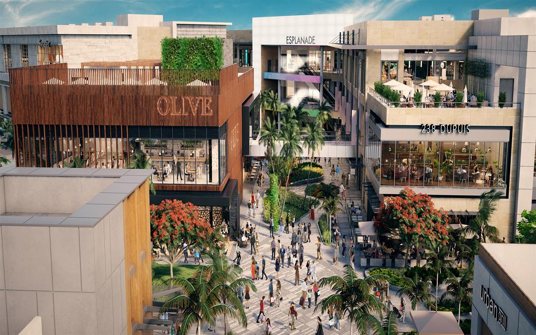 Construction Underway On 215K Square Foot Esplanade At Aventura Mall