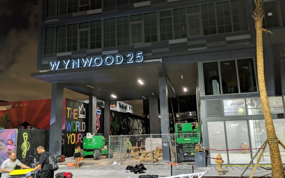 FIRST BIG RESIDENTIAL PROJECT ABOUT TO OPEN IN WYNWOOD, WITH OCCUPANCY EXPECTED IN MAY