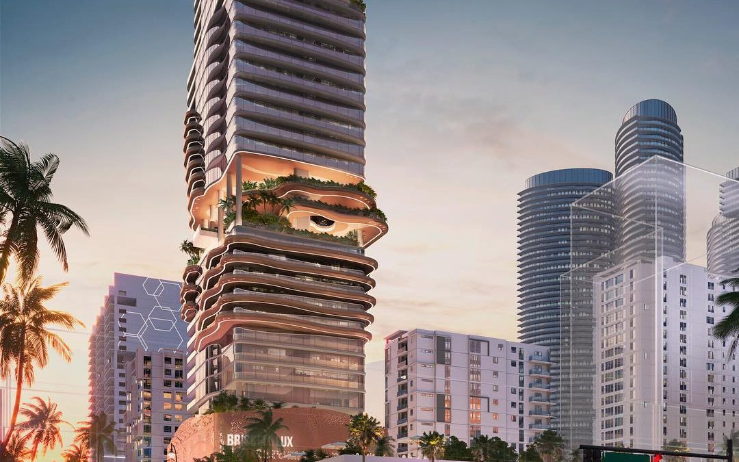 REVEALED: RENDERINGS OF BRICKELL LUX TOWER, WITH HOTEL & RESIDENTIAL
