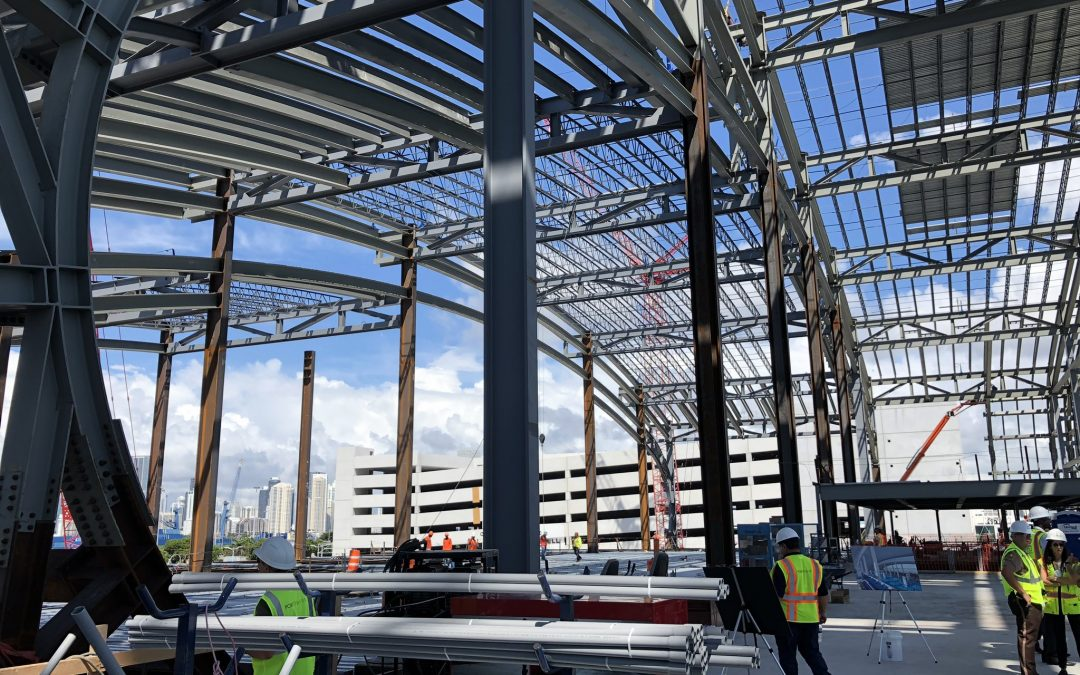 FIRST LOOK INSIDE $215M 'PEARL OF MIAMI' WHERE GLASS IS NOW BEING INSTALLED