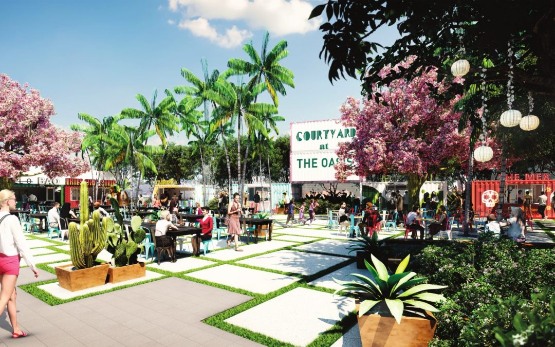 WYNWOOD OASIS NOW UNDER DEVELOPMENT, WILL INCLUDE RESTAURANTS, OFFICE & RETAIL