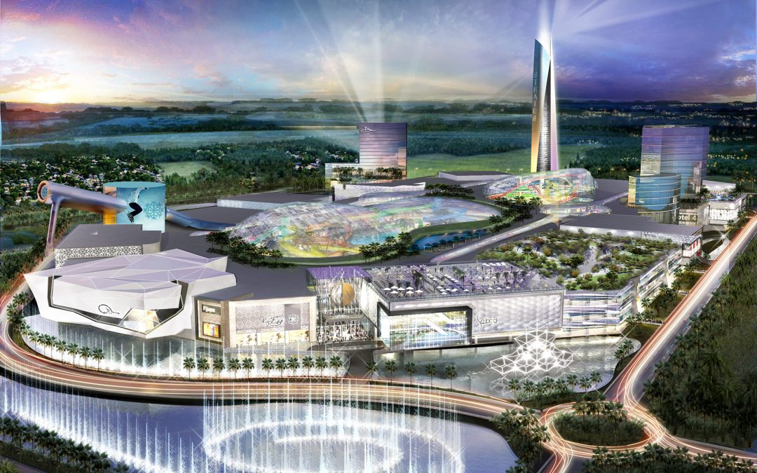 INFRASTRUCTURE WORK FOR AMERICA'S BIGGEST MALL ABOUT TO BEGIN IN MIAMI