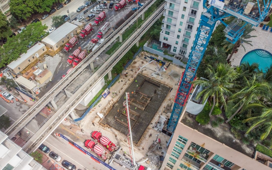 FOUNDATION POUR FOR 31-STORY YOTELPAD COMPLETED WITH OVER 95 PERCENT OF UNITS SOLD