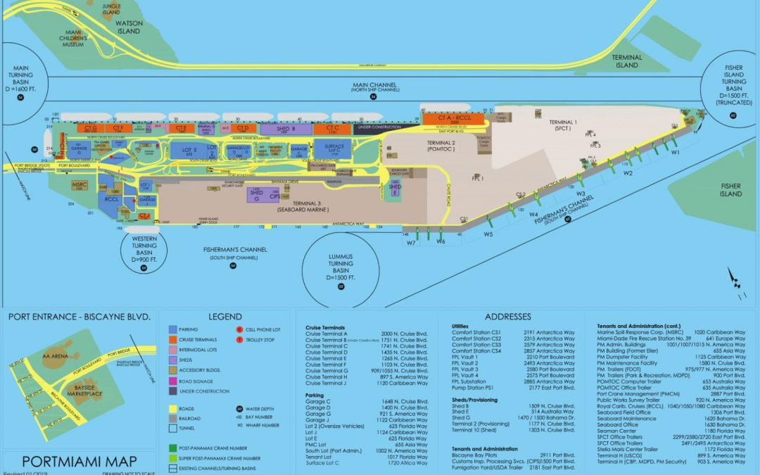CARNIVAL CRUISE LINE WILL UNVEIL PLANS TOMORROW FOR A $195M TERMINAL AT PORTMIAMI THAT WILL BE A 'BEAUTY'