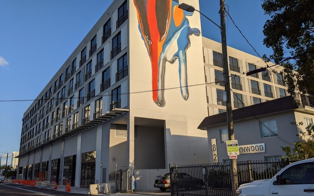 THE BRADLEY NEARS COMPLETION IN WYNWOOD & WILL SOON ADD HUNDREDS MORE RESIDENTS TO THE NEIGHBORHOOD