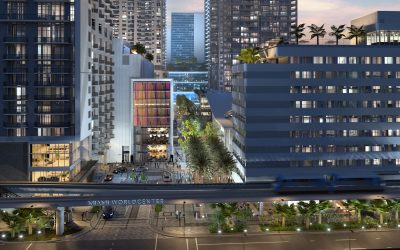 MIAMI WORLDCENTER'S MIXED-USE BLOCK H IS NOW RISING WITH PARKING, RETAIL & RESTAURANT SPACE