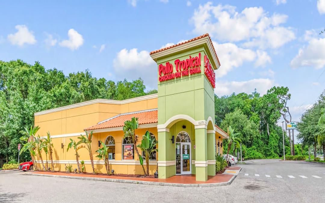 Pollo Tropical Triple Net (NNN) Commercial Property  Tampa, Florida